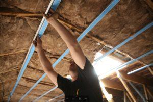 isolation interieure des rampants de toiture